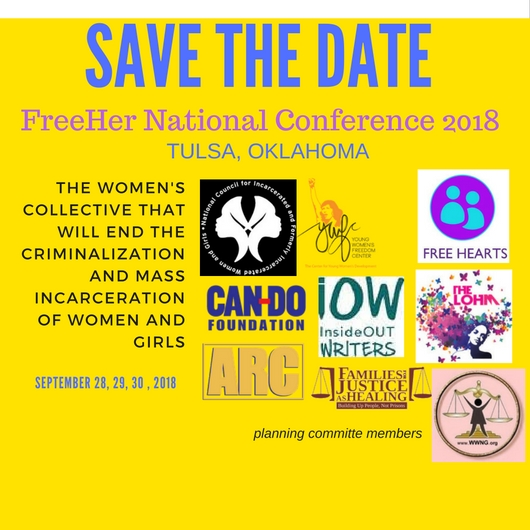 FreeHer 2018 National Conference save-the-date